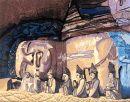 中國渝西畫派精英展 4《大足石刻—卧佛》傅先丹 - Iconada愛墾納達愛墾納達雲端藝廊:文化創意人的窩/Visit http://iconada.tv Your Cloud Arts Gallery