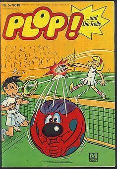 Plop! ...und Die Trolls Nr.5 von 1969 - Z1-2 MOEWIG FUNNY COMICHEFT-RARITÄT