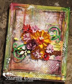 Heartfelt Creations | Altered Everyday Journal