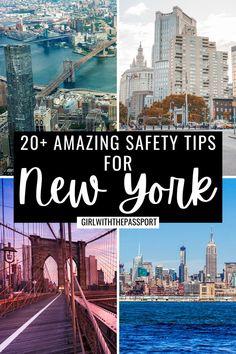 New York Travel Guide, New York City Travel, Travel Guides, Travel Tips, Travel Destinations, Usa Travel, Solo Travel, Cool Places To Visit, Places To Go