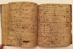 1829 Benjamin Jennings Account Book Hand Written Paper Ledger Diary Amp Odd Story | eBay