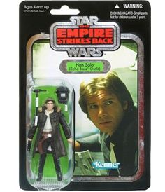 Star Wars - The Vintage Collection #03 - Han Solo (Echo Base Outfit) (silver foil chase card)