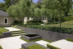 Love this garden! Classic French Garden by Peter Fudge Gardens Landscape Design