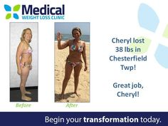 Congratulations to Cheryl from Chesterfield Township on her loss of 38 lbs! Cheryl looks fantastic and is ready to have fun in the sun this summer!  #ItFits #WeightLoss #TransformationTuesday
