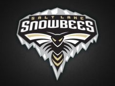 SALT LAKE SNOWBEES As a local Salt Lake City resident, I love this idea. Our current Triple-A baseball team is The Bees ( formerly The Buzz ) -CP .Slsdribbble_1