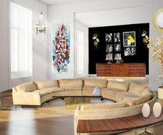 Amazing sofa! Massive sell-off of the estate of Steve Rubell, Studio 54 owner
