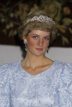 Diana, Princess of Wales during a visit to Munich on 5 Nov 1987