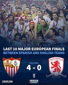 #europaleague 2005-2006 #football Football Transfers, Middlesbrough, Europa League, Champion, Soccer, Sevilla, Futbol, European Football, European Soccer