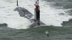 The US Navy has received an attack submarine sponsored by first lady Michelle…