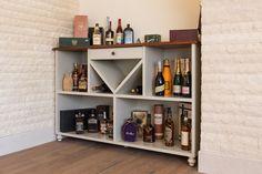 Minibar in livingroom