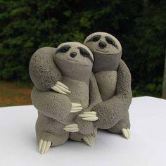 Sloth Wedding Cake? Yes.