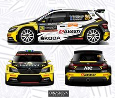 Rallye Automobile, Racing Car Design, Skoda Fabia, Subaru Cars, Car Illustration, Rally Car, Car Wrap, Wrx, Car Decals
