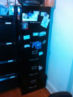 Black drawer