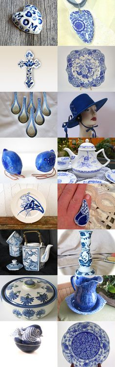 Blue For Mom by Sharon Thurman on Etsy--Pinned with TreasuryPin.com