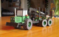 Kockums 85-35 Tractor Vehicle Paper Model
