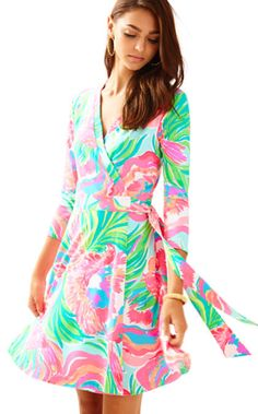 Emilia Wrap Dress | 25254 | Lilly Pulitzer