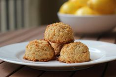 If you're craving something sweet and lemony, it's all about these delicious Meyer lemon coconut macaroons. They're also gluten-free and paleo-friendly.