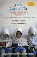 Three Cups of Tea by Greg Mortenson--a moving story of one man's journey to promote peace, one school at a time
