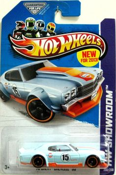 1970 Chevy Chevelle SS Hot Wheels 2013 HW Showroom #250/250 Black/Red EDELBROCK #HotWheels #Chevrolet