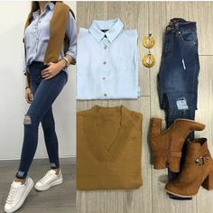 Mixing and matching combo outfits – Just Trendy Girls Winter Dress Outfits, Komplette Outfits, College Outfits, Cute Casual Outfits, Fashion Outfits, Dress Winter, Fashion Hacks, Teenager Fashion Trends, Teen Fashion