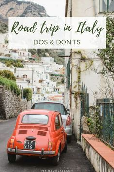 Driving Tips for a Road Trip in Italy #italy Europe Travel