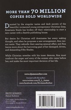 Fifty Shades Trilogy (Fifty Shades of Grey / Fifty Shades Darker / Fifty Shades Freed): E L James: 9780345804044: Amazon.com: Books