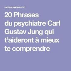 20 Phrases du psychiatre Carl Gustav Jung qui t'aideront à mieux te comprendre Positive Attitude, Positive Vibes, Staying Positive, Carl Rogers, Coaching Questions, Gustav Jung, Miracle Morning, Conscience, Carl Jung