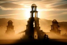 Temple of Transition,  Dust and Bicycle 3 by cookinghamus, via Flickr