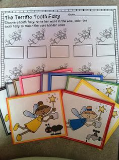 Jen's Kinder Kids: Dental Health Freebie