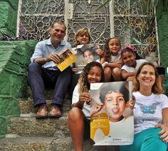 Apoio ao colégio do SOLAR MENINOS DE LUZ na favela do Pavão-Pavãozinho em Copacabana. Só a educação transforma e liberta!