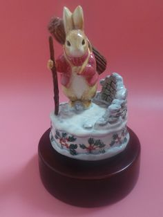 Border Fine Arts THE FIRST NOEL Musical Beatrix Potter