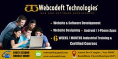 Webcodeft Technologies Pvt Ltd. Webcodeft Technologies is a Website & software Development company and a community of passionate, Highly Skilled Professionalsonly. We all are having Mor…
