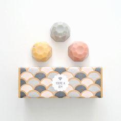 Jewel Soap Gift Set - You're a Gem - 3 Soaps