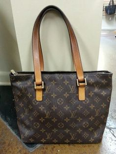 Louis Vuitton zip top tote.