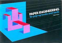 mérnökösen megszerkesztett hajtogatott papírt ábrázoló grafika