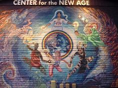 Sedona, Center for the New Age - Mural
