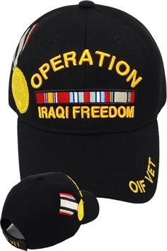 Navy Blue Eagle Crest USCG Cap With Logo