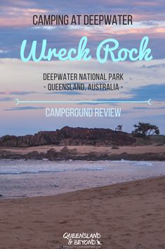 Deepwater National Park is a lovely spot if you want to do a bit of exploring in Queensland. The Wreck Rock camping area is small and doesn't feel too crowded even when it's full. Here's what to expect when camping at Wreck Rock. 🌐 Queensland & Beyond Camping Jokes, Camping Spots, Camping Activities, Camping Tips, National Park Camping, National Parks, State Parks, Camping San Sebastian, Grand Canyon Camping