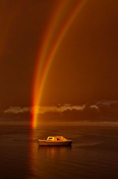 Reflection Rainbow Over Swan Bay, Victoria | Phil Thomson #photography