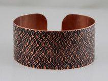 Bark - copper bracelet