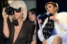 Battling Fame Whores Use Marijuana to Ignite Headlines: Miley Fires Up, Gaga Calls it Addictive