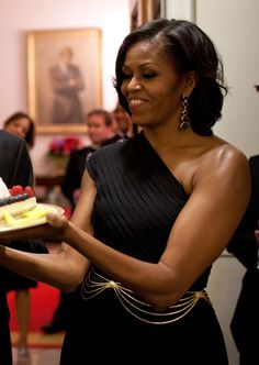 The beautiful 1st Lady, Michelle Obama.