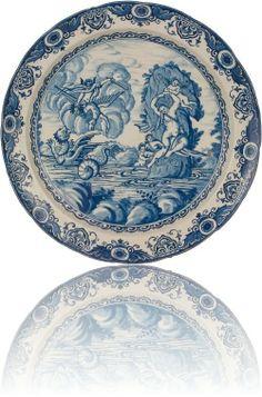 Delfts Blauwe Schotel - Antiek Keramiek & Delfts Blauw (Delfts Aardewerk)   Van Nie Antiquairs
