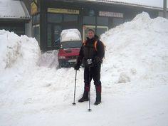 Pantalone za planinarenje i skijanje - Ferrino tete blanche