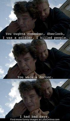 Fear me Sherlock...