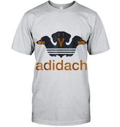 Adidach 3 dachshunds mashup idea sausage premium T Shirt Dachshunds, Sausage, T Shirt, Guy, Tops, Fashion, Supreme T Shirt, Moda, Dachshund