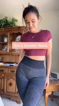 Small Waist Workout, Full Body Gym Workout, Summer Body Workouts, Slim Waist Workout, Ab Workout At Home, Butt Workout, Curves Workout, Pilates Workout, Abs Workout Challenge