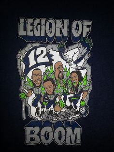 Shockwave Tees creating unique Seattle Sports inspired t-shirts. From the Seahawks, Mariners, Sounders and the Supersonics. Seahawks Memes, Seahawks Football, Seattle Seahawks, Fantasy Football Names, Earl Thomas, Shock Wave, West Seattle, 12th Man, American Football