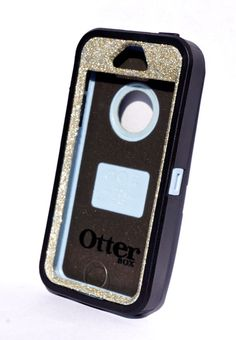 NEW!!! This is genuine Otterbox Glitter Cute Sparkly Bling Defender case for iPhone 5 / 5s This case is NOT customized by Otterbox. Case