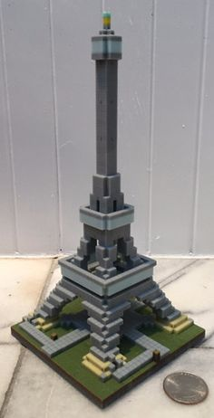 Mineways (free, open-source) lets you export your Minecraft creations into files: use these for making images, movies, or 3D prints - like this Eiffel tower model